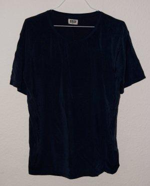 Cupro Kunstseide Seide vegan Shirt Weekday XS 36