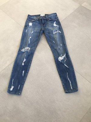 Current/elliott Low Rise Jeans blue