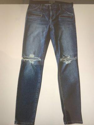 Current/elliott Slim Jeans blue cotton