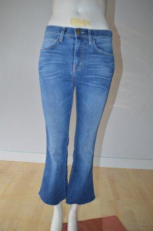 Current/elliott 3/4 Length Jeans neon blue cotton