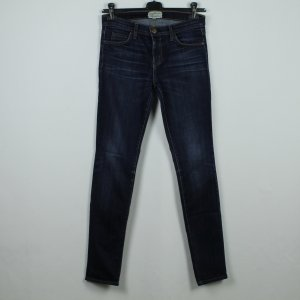 Current/elliott Jeans a carota blu scuro Tessuto misto