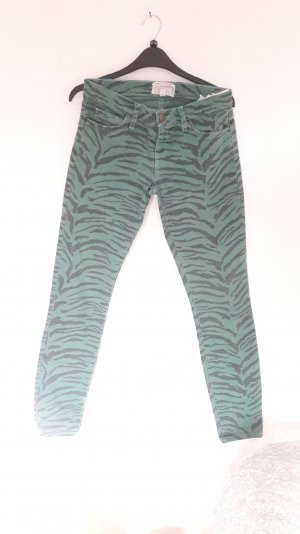 Current/Elliot Jeans Skinny Slim Fit Röhre Zebra Animal 25