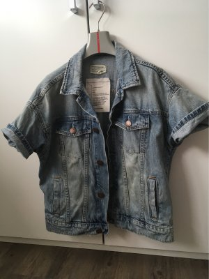 Current/elliott Denim Jacket multicolored