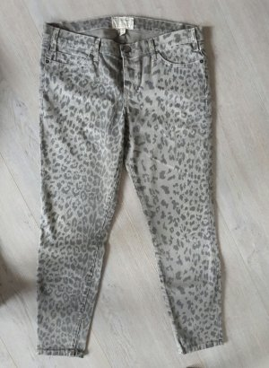 Current Elliot Stiletto Jeans Leoprint Grau Gr. W 31