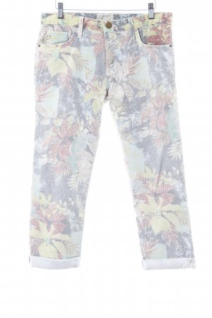 Current/elliott 3/4 Length Jeans flower pattern casual look