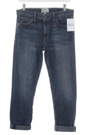 Current/elliott 7/8 Jeans dunkelblau Street-Fashion-Look