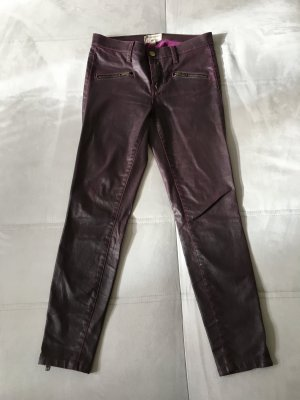 Current Elliott, beschichtete Jeans, THE SOHO ZIP STILETTO