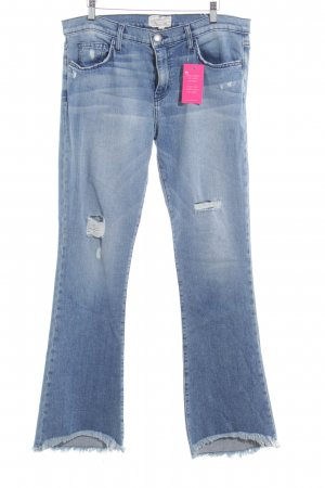 Current/elliott Boot Cut Jeans cornflower blue casual look