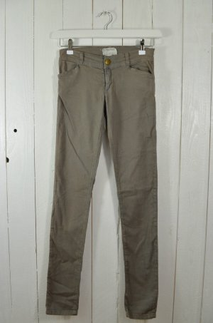 CURRENT ELLIOTT Damen Jeans Mod. THE LEGGING Charcoal Oliv Grau Gr. 27