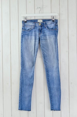 CURRENT ELLIOTT Damen Jeans Mod.The Rolled Skinny Blue Chip Blau Stretch Gr.25