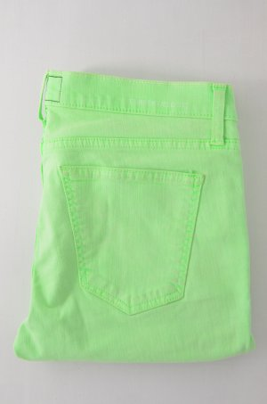 CURRENT ELLIOTT Damen Jeans Mod. The Stiletto col.Lime Green Neon-Grün Gr.28