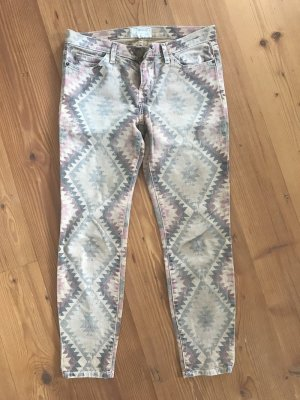 Current & Elliott Denim Vintage-Style mit Print