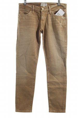 Current/elliott Jeans sand brown-gold-colored second hand look
