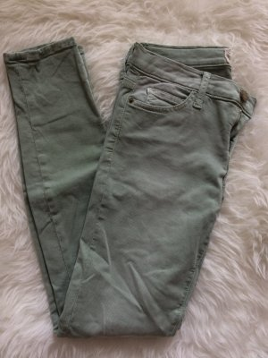 Current/Elliott Jeans W 28 38 M neu Röhrenjeanes Skinny Herbst grün pastelgrün