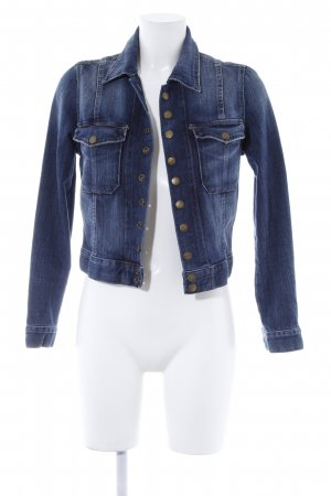 Current/elliott Denim Jacket dark blue casual look