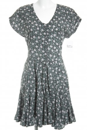 Current/elliott Shortsleeve Dress flower pattern romantic style