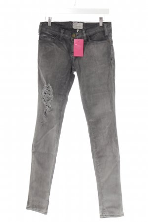 Current/elliott Tube Jeans anthracite-grey distressed style