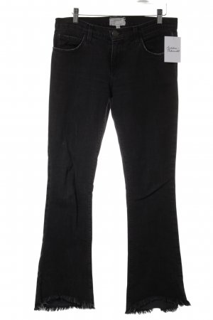 Current/elliott Pantalone a zampa d'elefante antracite stile casual