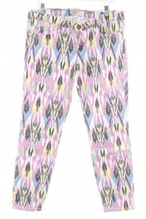 Current/elliott Skinny Jeans abstraktes Muster Casual-Look