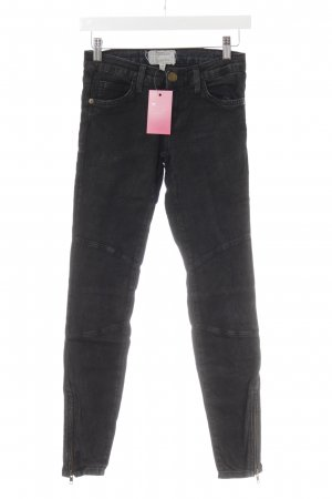 Current/elliott Skinny Jeans anthracite-black casual look