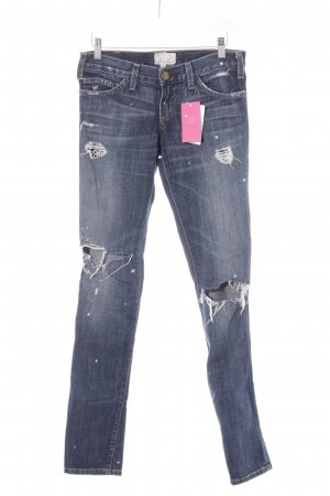 Current/elliott Skinny Jeans blau Used-Optik