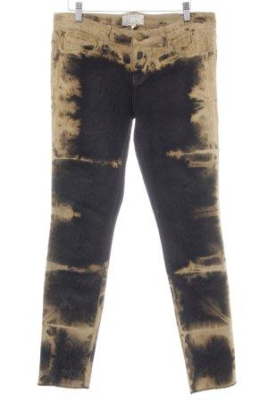 Current/elliott Skinny Jeans camel-schwarz Animalmuster Casual-Look
