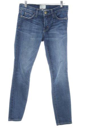 Current/elliott Skinny Jeans dunkelblau-blassblau Casual-Look