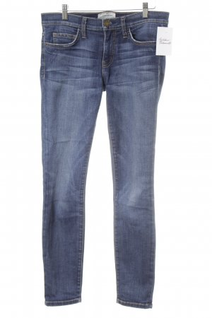 Current/elliott Skinny Jeans dunkelblau-wollweiß meliert Casual-Look