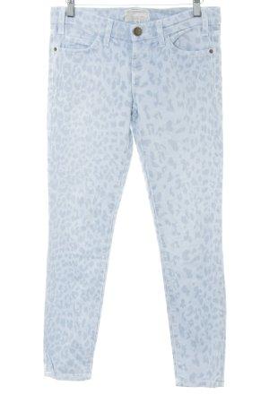Current/elliott Skinny Jeans himmelblau-graublau Leomuster Street-Fashion-Look