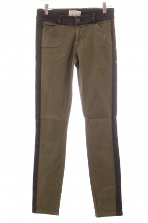 Current/elliott Skinny Jeans schwarz-khaki Casual-Look