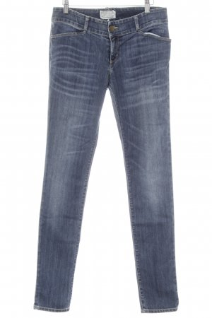 Current/elliott Skinny Jeans stahlblau Casual-Look