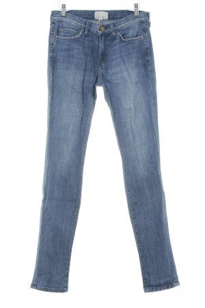 Current/elliott Skinny Jeans stahlblau Vintage-Look