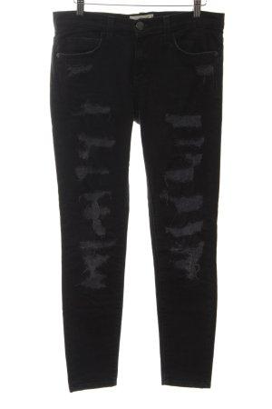Current/elliott Slim Jeans schwarz Casual-Look