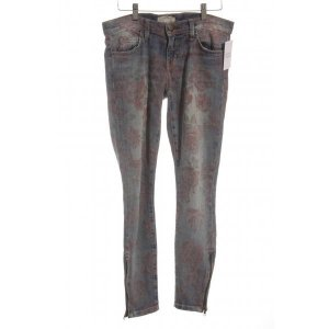 Current/elliott Slim Jeans Blumenmuster Business-Look