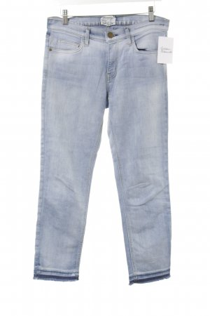 Current/elliott Slim Jeans hellblau Washed-Optik