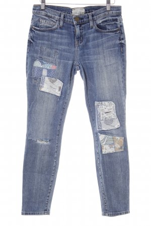 Current/elliott Slim Jeans kornblumenblau-himmelblau Casual-Look
