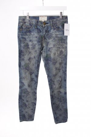 Current/Elliott Slim Jeans mit Blumenprint