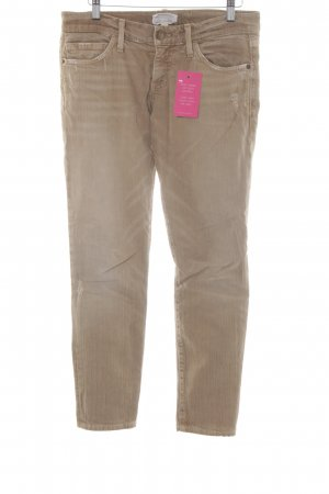 Current/elliott Slim Jeans sandbraun-hellbraun Casual-Look