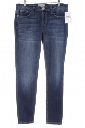 Current/elliott Slim Jeans stahlblau Casual-Look
