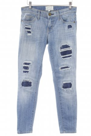 "Current/elliott Slim Jeans ""The Stiletto"" stahlblau"