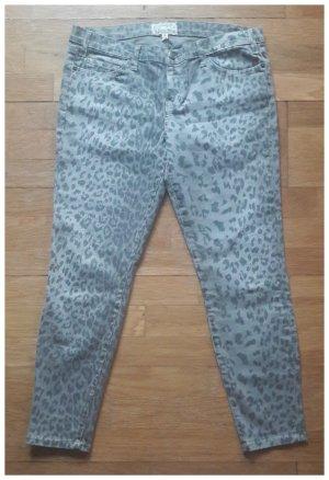 Current Elliott Stiletto - Leopard Print Jeans