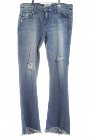 Current/elliott Straight Leg Jeans blue casual look