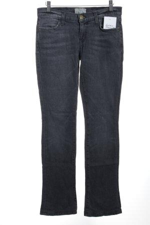 Current/elliott Straight-Leg Jeans grau schlichter Stil