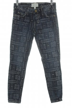 Current/elliott Straight-Leg Jeans Mustermix Casual-Look