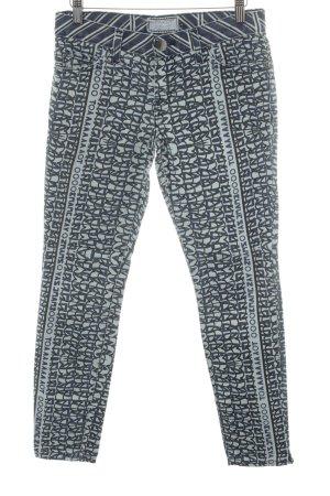 Current/elliott Straight-Leg Jeans Schriftzug gedruckt Casual-Look
