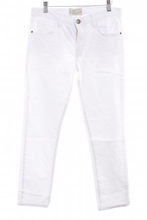 Current/elliott Straight-Leg Jeans weiß Jeans-Optik
