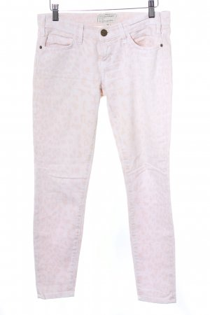 Current/elliott Stretch broek room-nude luipaardprint casual uitstraling