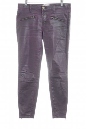 Current/elliott Stretch Trousers violet-brown violet extravagant style