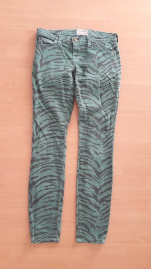 Current/Elliott The Ankle Skinny Baltic Zebra Jeans 25 Smim fit Röhre