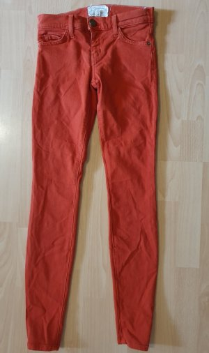 Current/elliott Skinny Jeans dark orange